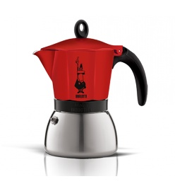 BIALETTI - Kawiarka Moka induction (300ml) CZERWONA 6TZ